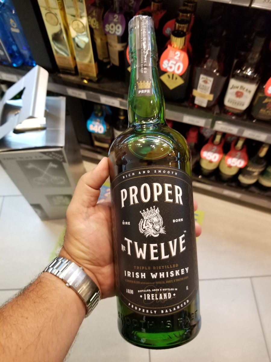@TheNotoriousMMA finally found a proper whiskey! Looked everywhere in Canada, couldn't get it.  Buying this from Miami international and taking it home. Looking forward to drinking it. Get on it @LCBO!