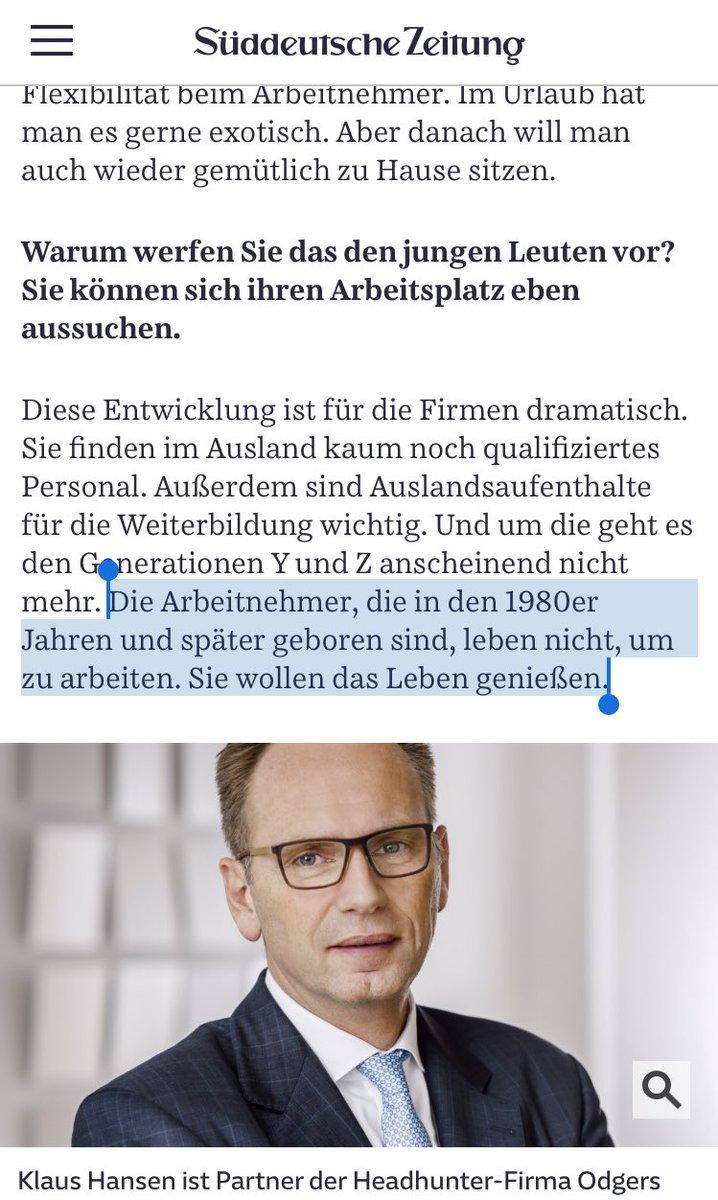 puh ja junge Leute einfach komplett merkwürdig (https://www.sueddeutsche.de/karriere/personal-arbeitskultur-generation-y-1.4499894…)