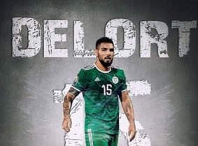 BREAKING: There are rumours emerging that Andy Delort has taken an interest in converting to Islam after spending a few weeks with the Algeria squad. <br>http://pic.twitter.com/WdDxEoynsz