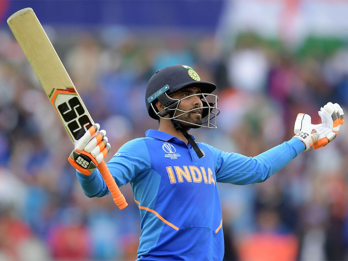 #WC2019WithTimes #CWC2019 #ICCWorldCup2019 #INDvNZ #CWC19@imjadeja lends semblance of respectability to lost cause as #TeamIndia bow out🏏The stars failed when it mattered the most as India's @cricketworldcup hopes died a painful deathDetails ▶️http://toi.in/wDYZVY/a24gk
