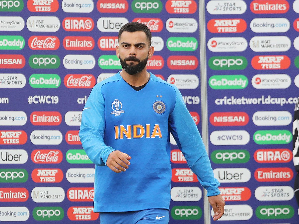 """#WC2019WithTimes #CWC2019 #ICCWorldCup2019 #INDvNZ #CWC1945 minutes of bad cricket cost us, says @imVkohli 🏏""""We are sad but not devastated because the kind of cricket we played in this tournament,"""" #ViratKohli saidMore Here ➡️http://toi.in/M7JQRZ/a24gk"""