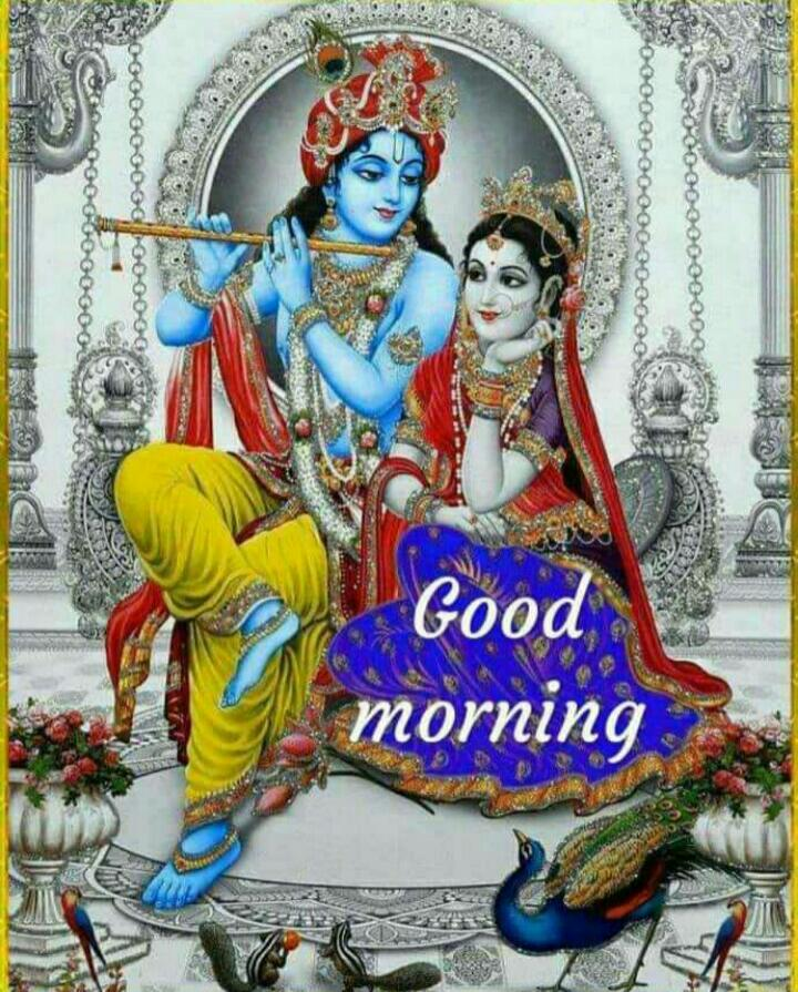 Good morning Sir Happy Wednesday Jay Shree Krishna Radhey