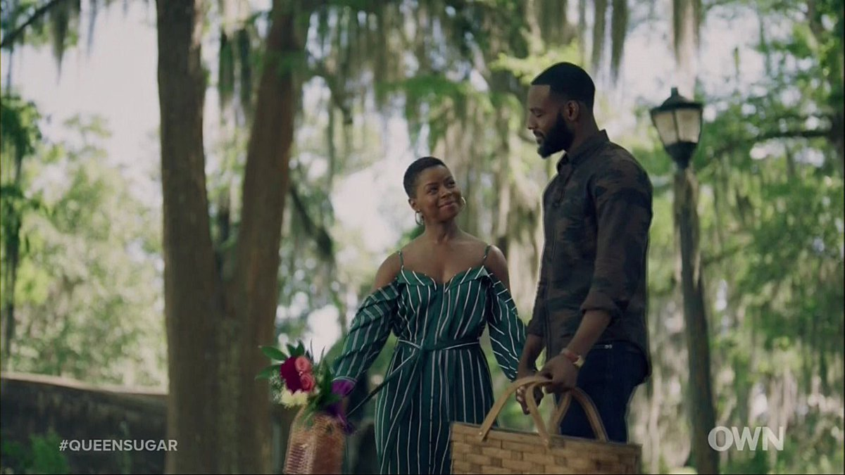 I don't know where this will lead, but the beginning of this love is so beautiful. #QueenSugar