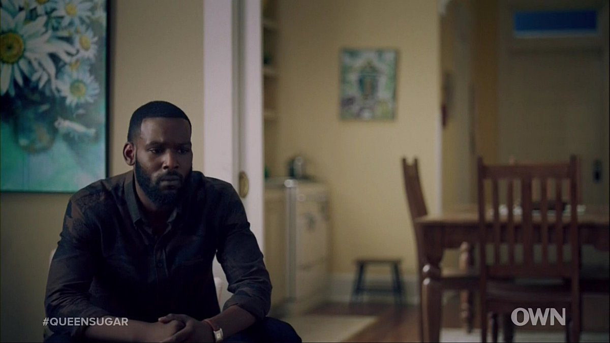 A lot of crushed dreams tonight. How are they going to explain this to Blue? #QueenSugar