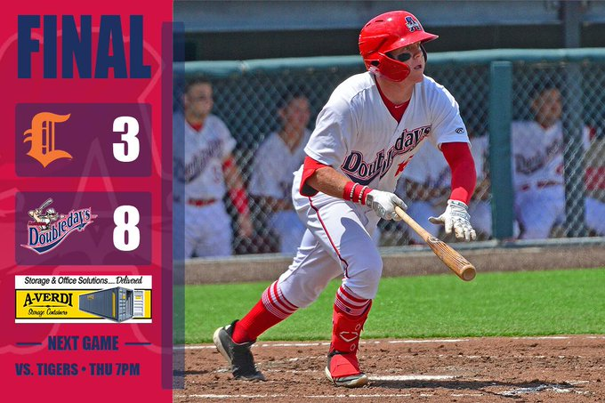Doubledays open series with win over Tigers at Falcon Park
