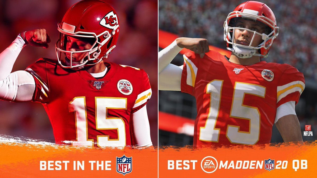 Congratulations to your #Madden20 Cover Athlete @PatrickMahomes for winning Best NFL Player! #ESPYS