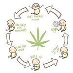 Image for the Tweet beginning: Continuing the cycle #Weed #IamCannabis