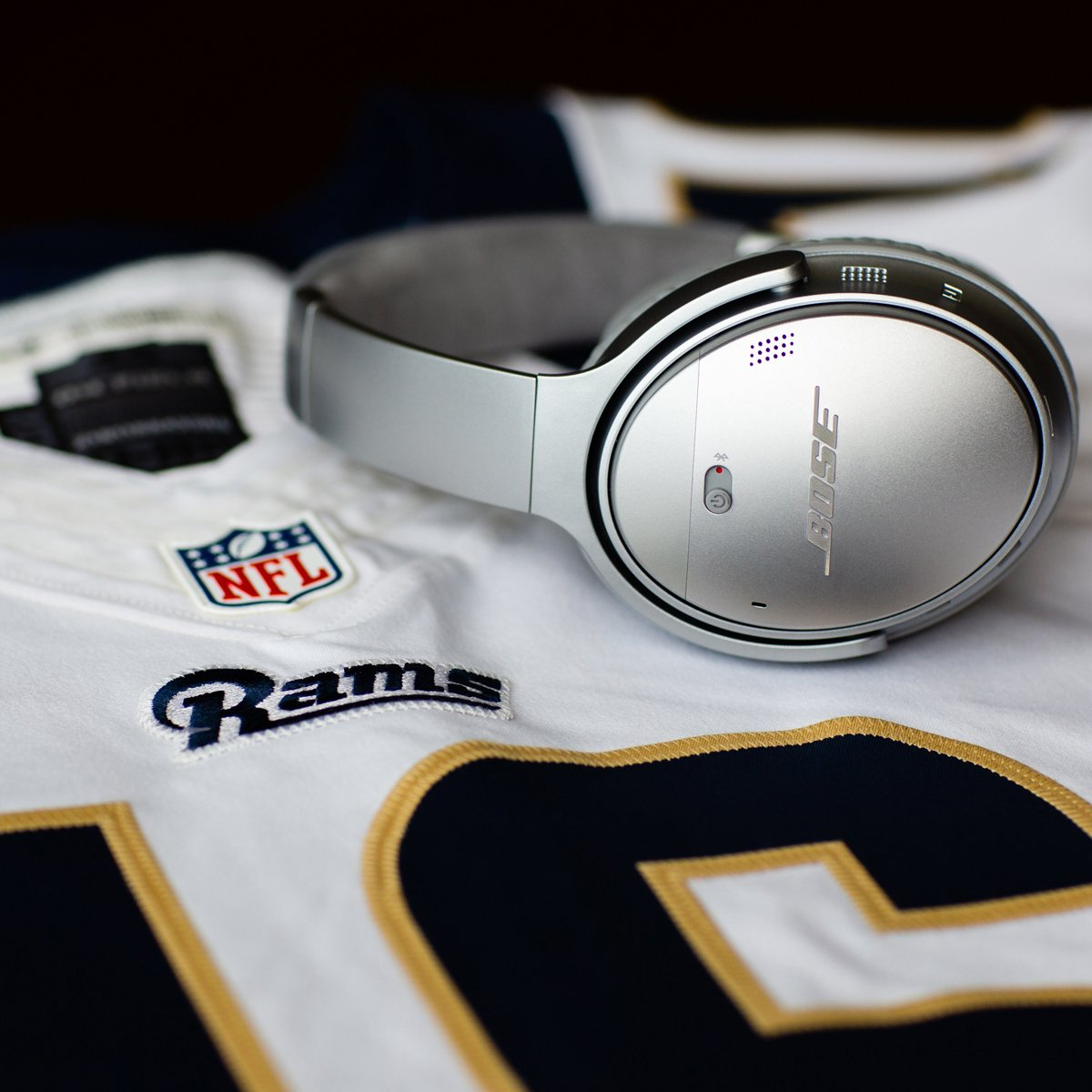 And what a game it was! Congrats @Chiefs and @RamsNFL — rematch this year? @ESPYS #TeamBose #QC35 II https://bose.life/2YitAU0
