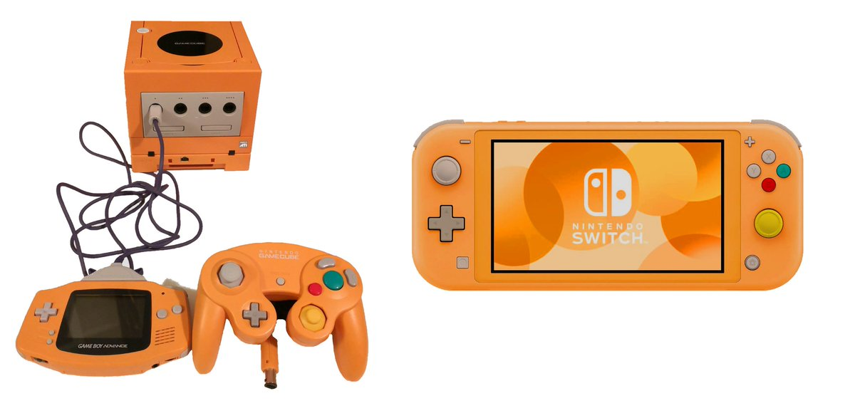 Spice Orange or we riot. @NintendoAmerica #SwitchLite <br>http://pic.twitter.com/IrLUGW1NaE