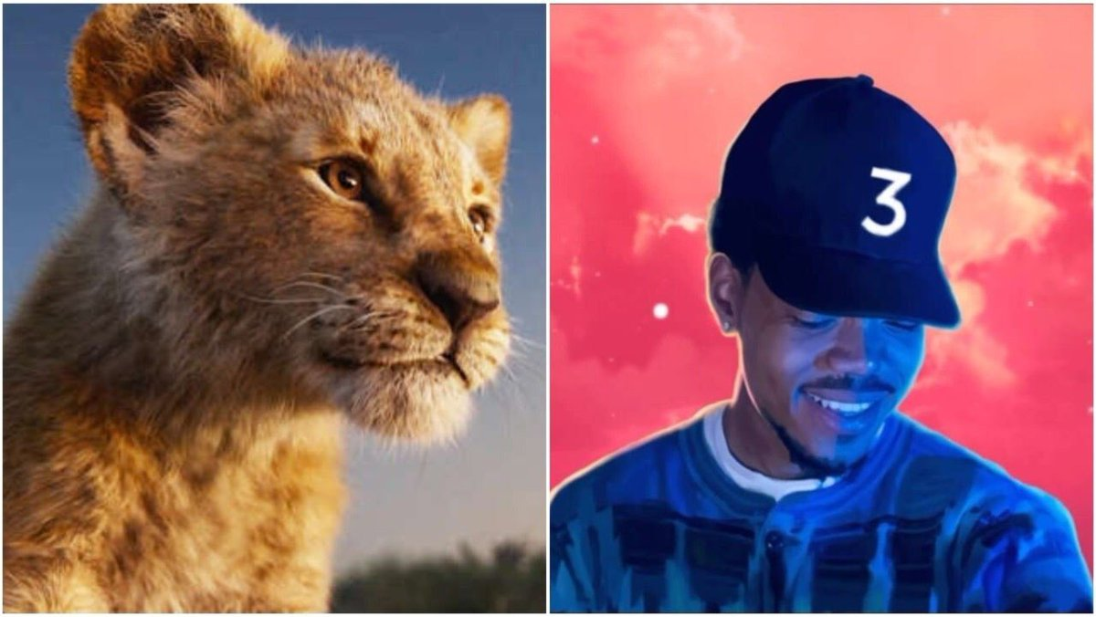 Eric Alper On Twitter Chance The Rapper Confirms He Voiced The Character Bush Baby In The Jon Favreau Directed Live Action Remake Of The Lion King Https T Co Adf9mpiyxt