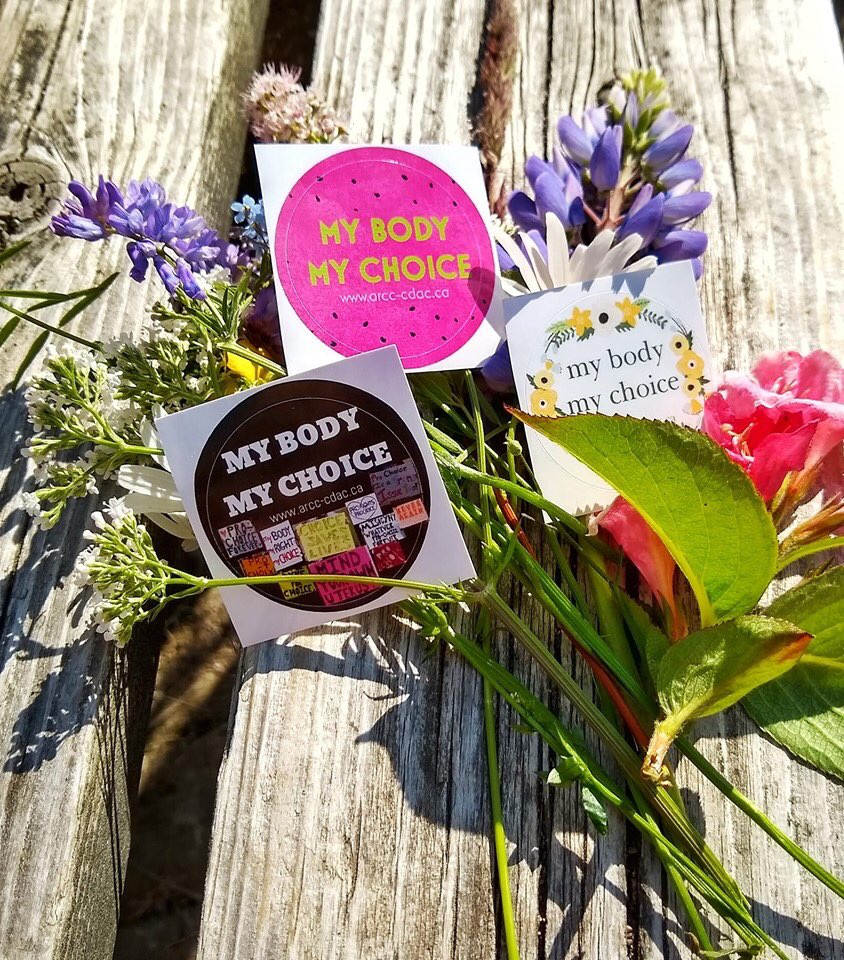 All @AbortionRights of Canada proceeds from stickers go towards protecting, sustaining, and expanding abortion access in Canada! Order yours today!  http://www. arcc-cdac.ca/membership.html     #mybodymychoice  #prochoice #prochoicecanada #youknowme #reproductiverights #abortionishealthcare #canpoli<br>http://pic.twitter.com/YMofUqhgVa