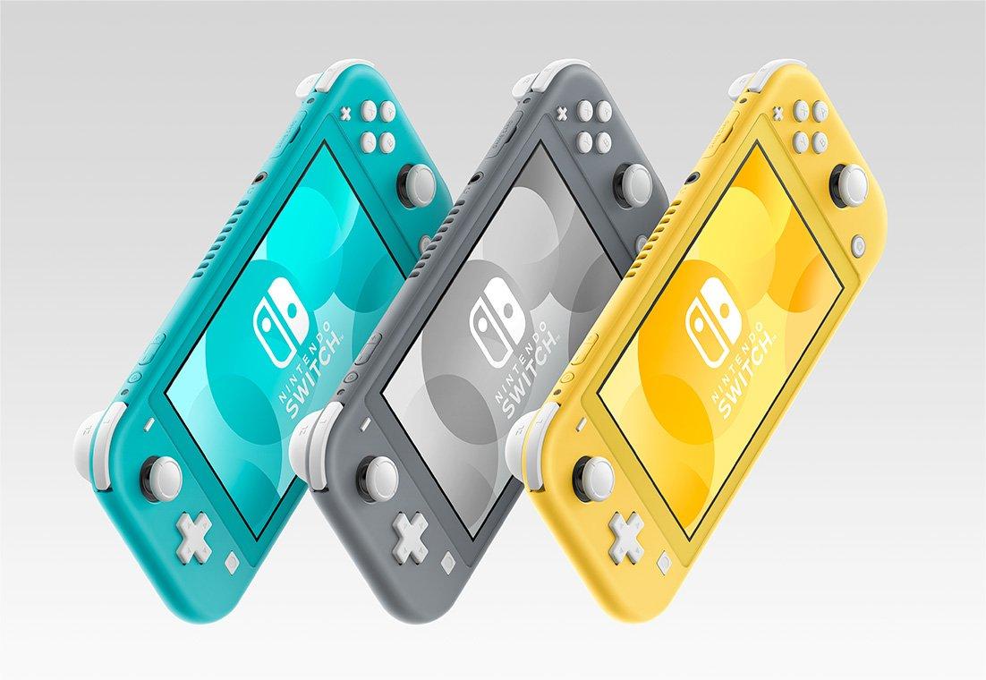 任天堂から携帯特化の「ニンテンドースイッチ ライト」新発売、価格は19,980円 - ポケモン剣盾モデルも