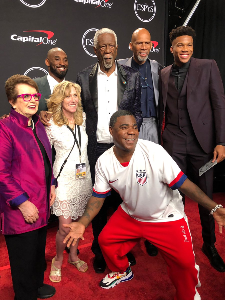 RT @TracyMorgan: Amazing night with a group of LEGENDS.  Thank you @ESPYS for a night I will never forget! https://t.co/eXh0mfXtIK
