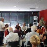 Échanges avec les acteurs locaux impliqués dans la cité  éducative à la médiathèque Andrée Chedid @marcvuillemot @VincentLena62