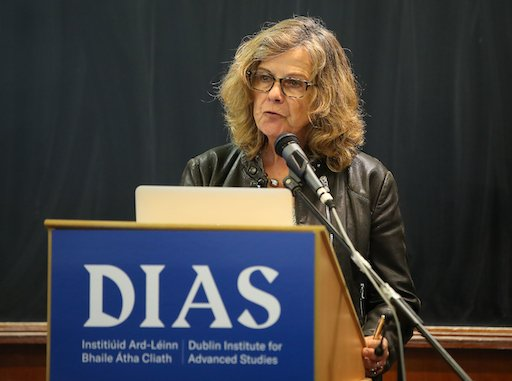test Twitter Media - Prof Teresa Lago, Sec Gen of @IAU_org, was back in Dublin July 4 to mark 100 years of the IAU, discussed Ireland's long history of IAU association, the links between Portugal and Ireland joining @ESO, and the need for better gender representation within the IAU.  #DIASdiscovers https://t.co/eWEvUW08e1