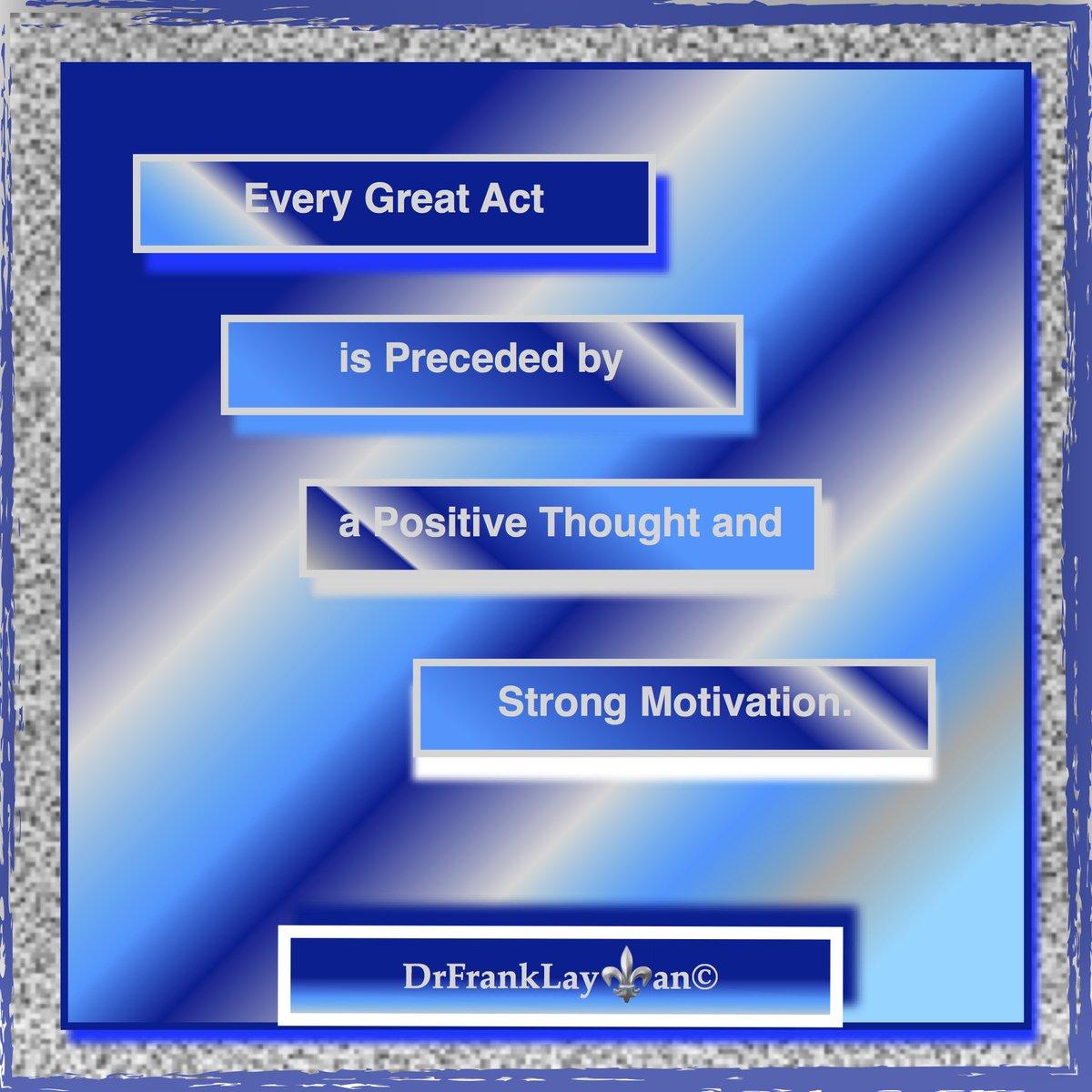 Every Great Act.@DrSTLT Keep Climbing.#DrFrankLayman @KevinGarciaTW   #positivethoughts      #motivational #author #writer    #selfhelp #LeadershipMatters    #positivemindset    https:// lowepublishing.com/author      https:// lowepublishing.com     Author #books   https://www. amazon.com/s?i=stripbooks &rh=p_27%3ADr.+Frank+Layman&s=relevancerank&text=Dr.+Frank+Layman&ref=dp_byline_sr_book_1  … <br>http://pic.twitter.com/1Kpp27xca7