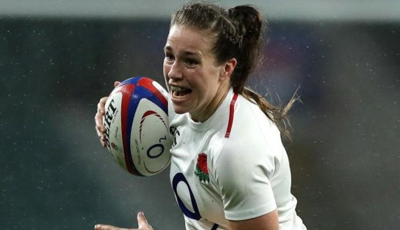 Emily Scarratt's late penalty saw England beat France 20-18 to maintain their 100% record and move top of the Women's Rugby Super Series table.More here 👉https://bbc.in/2XJAK88 #bbcrugby