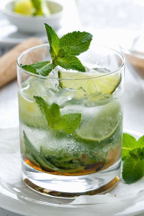 Start each day with a green smoothie. No, wait, the bartender says it's called a Mojito #NationalMojitoDay