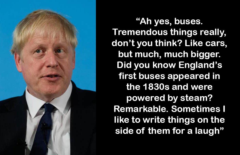 Boris Johnson responds to allegations he threw Sir Kim Darroch under the bus: <br>http://pic.twitter.com/9wVwNPlt9G