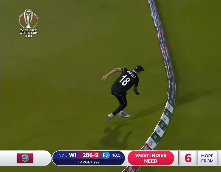 Other teams win by runs and wickets.NewZealand wins by 'inches'.#INDvsNZ #WIvNZ #CWC19