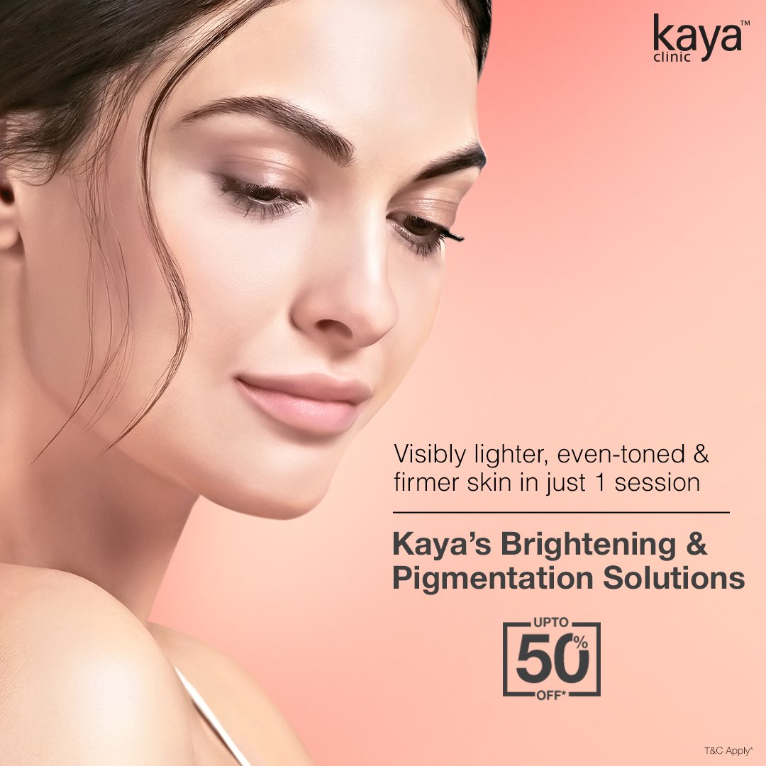 Get bright, beautiful & patch-free skin with Kaya's Insta Clarity Laser Treatment! Visit your nearest Kaya clinic and get expert advice from our dermatologists. Now at upto 50% off. T&C* #Kaya #KayaClinic #KayaIndia #SkinDoctor #Dermatologists #SkinCare #SmoothSkin #FlawlessSkin https://t.co/tGVP2uESnx