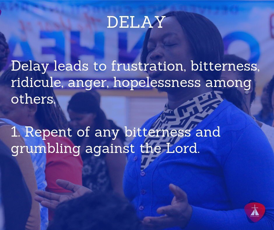 Warfare Prayer Against Spirit Of Delay And Frustration