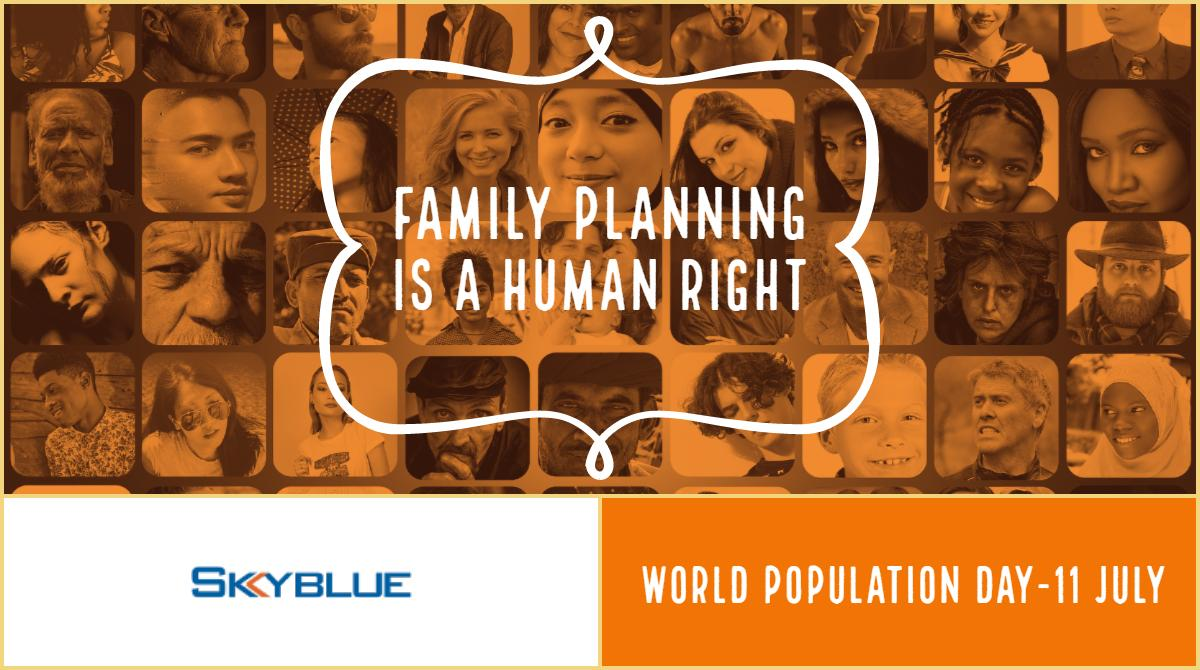 Celebrate World Population Day to control #population growth.   #TripSupport #FlightSupport #JetFuel  #AviationFuel #WorldPopulationDay #11July http://tiny.cc/5lyh9y
