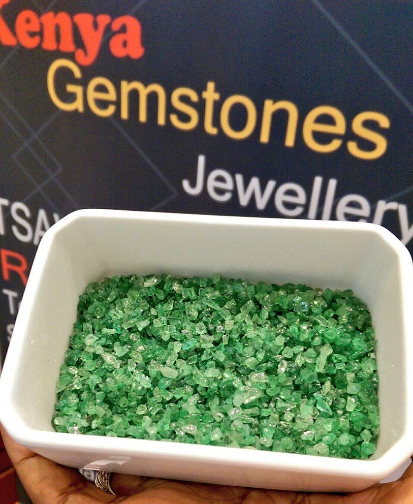 Proudly Kenyan!  #Tsavorite Gemstone!  Welcome to the 3rd Edition of the Kenyan Gem & Jewellery Fair at @MovenpickNRB.    raw tsavorite samples from Taita Taveta County @DiscoverTTCG   #GemstonesKe @aweik_ke | @MadiniKenya | @BaseTitanium | @VoiGemCentrepic.twitter.com/CBwCnvFuGu