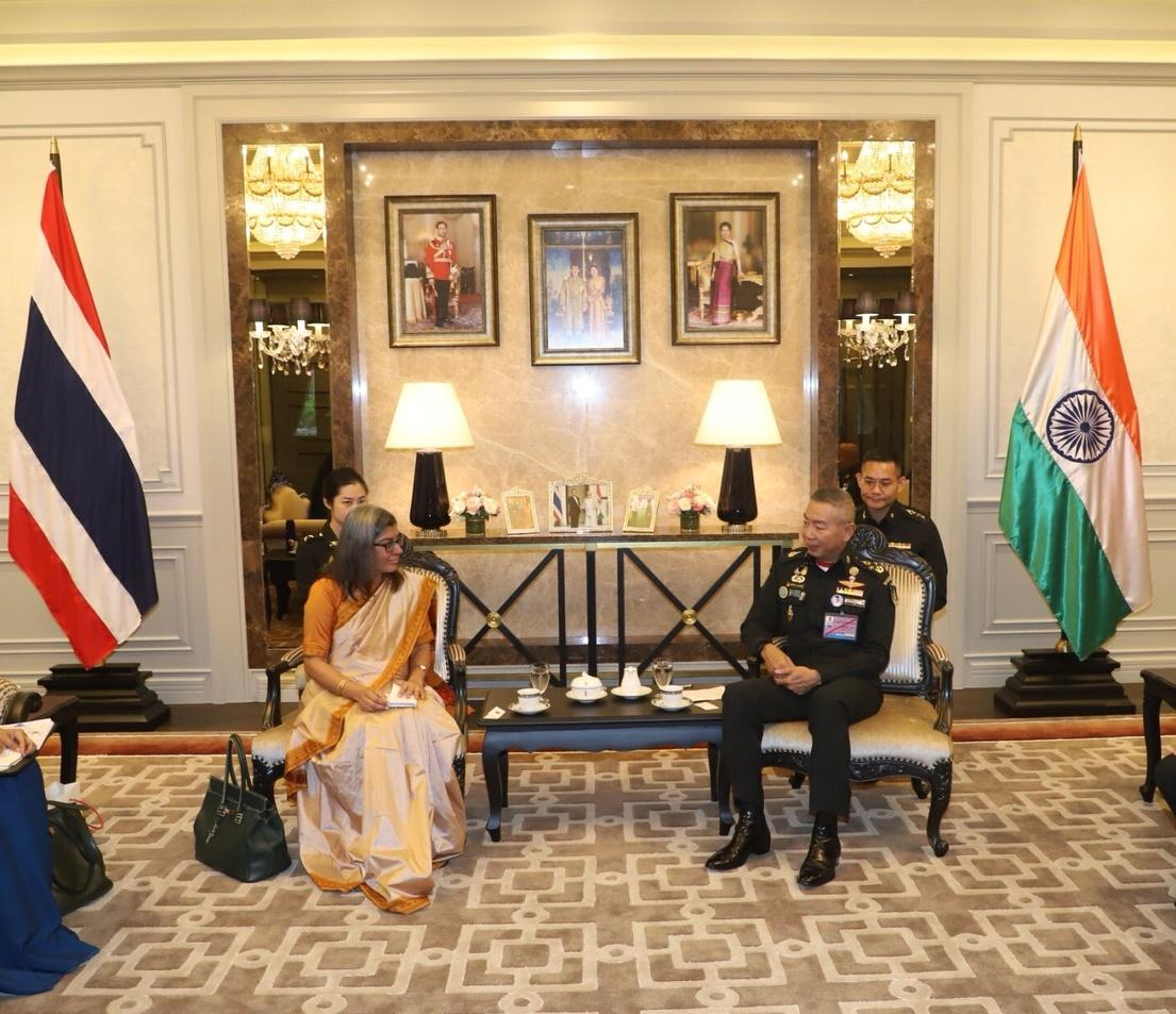 Ambassador Suchitra Durai called on General Apirat