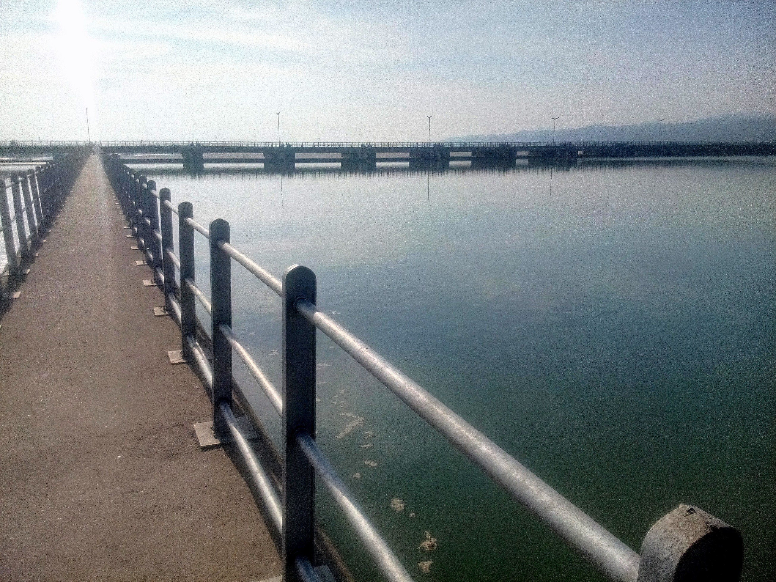 The calmness of Jhelum waters at Head Rasul