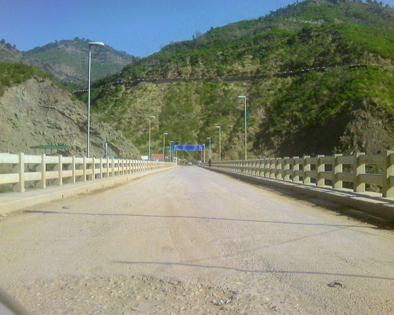 Azad Patan bridge crossing over Jhelum, entry point to Azad Kashmir