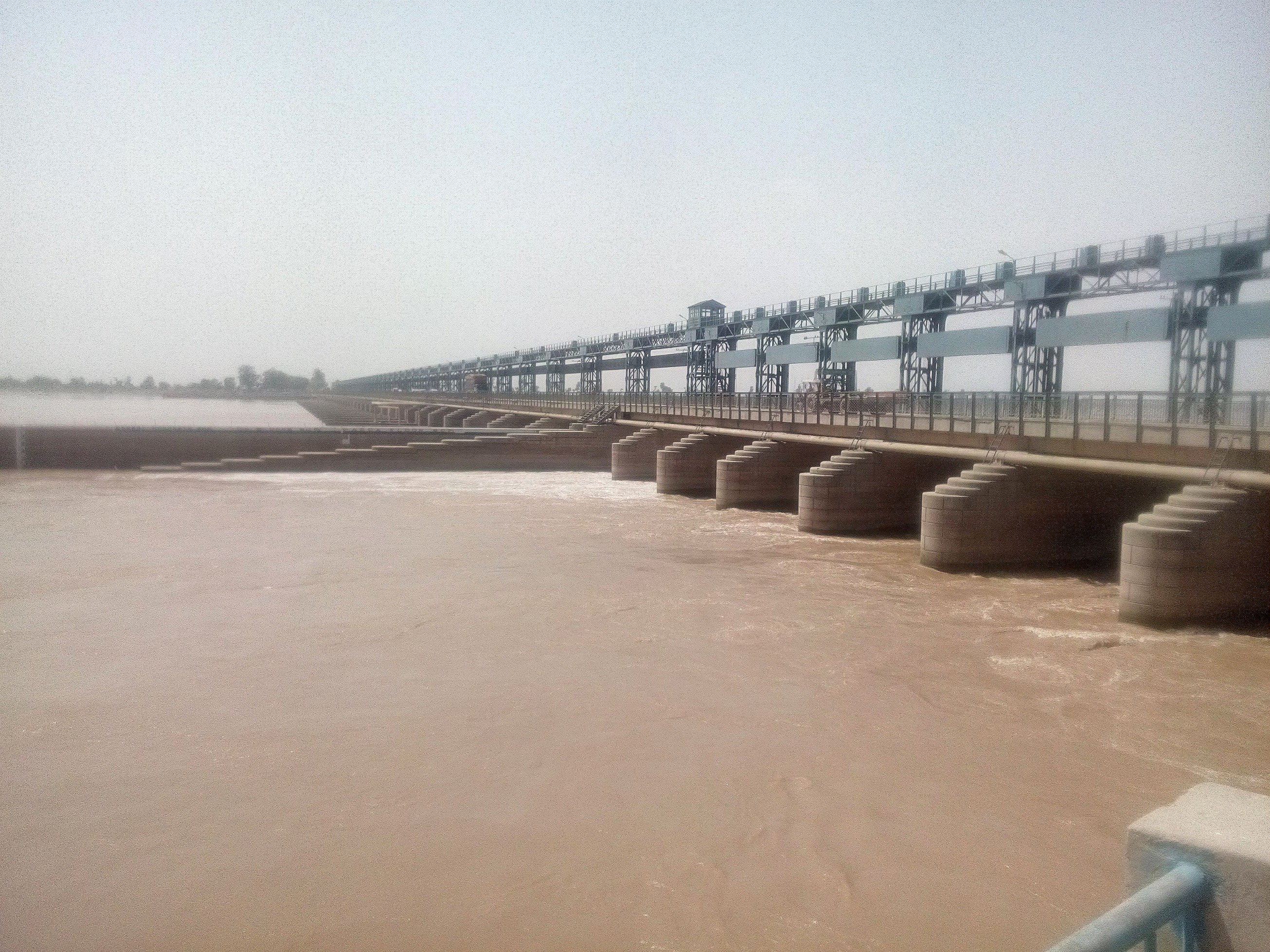 Asikni: Chenab at Trimmu Headworks