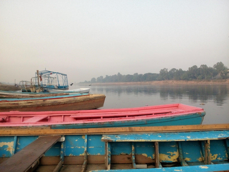 Parusni, Iravati: Present day Ravi, near Kamran ki Baradari