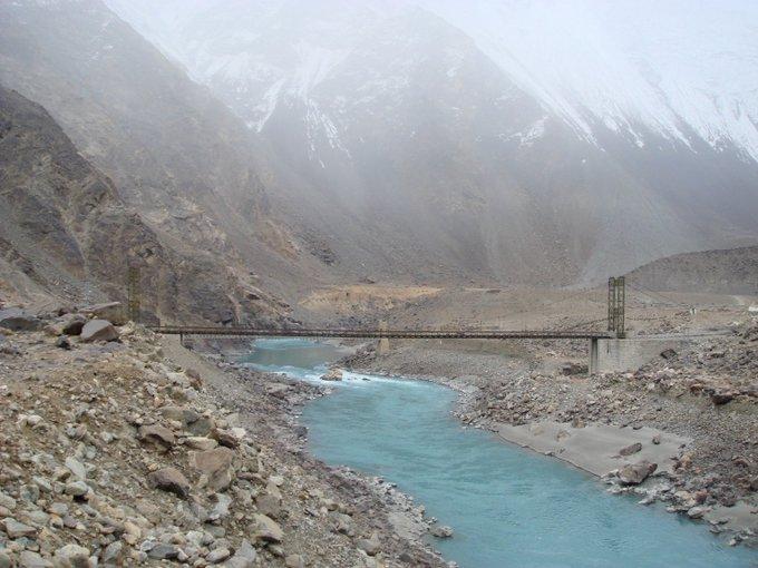 Indus stream near Skardu