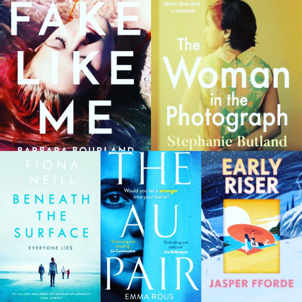 Many amazing books being published today!! Here's just a few😀 @riverrunbooks @ZaffreBooks @PenguinUKBooks @LittleBrownUK @HodderBooks