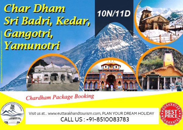 Grab the best deal of #ChardhamYatra by #helicopter & Volvo and explore #Kedarnath, #Badrinath, #Yamunotri, #Gangotri at pocket-friendly Cost ...  Phone: + 91-8510083783 Email: euttarakhandtourism@gmail.com Website: http://www.euttarakhandtourism.com