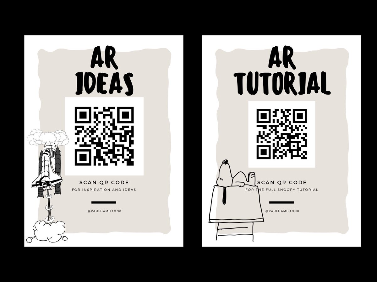 Two slides from the workshop I ran recently on AR at