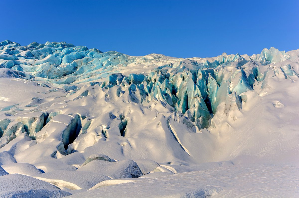 Vatnajökull National Park in Iceland is one of the new inscriptions on @UNESCO ´s World Heritage List this summer. This photo is of Vatnajökull Glacier. Photo: © Thorvardur Arnason