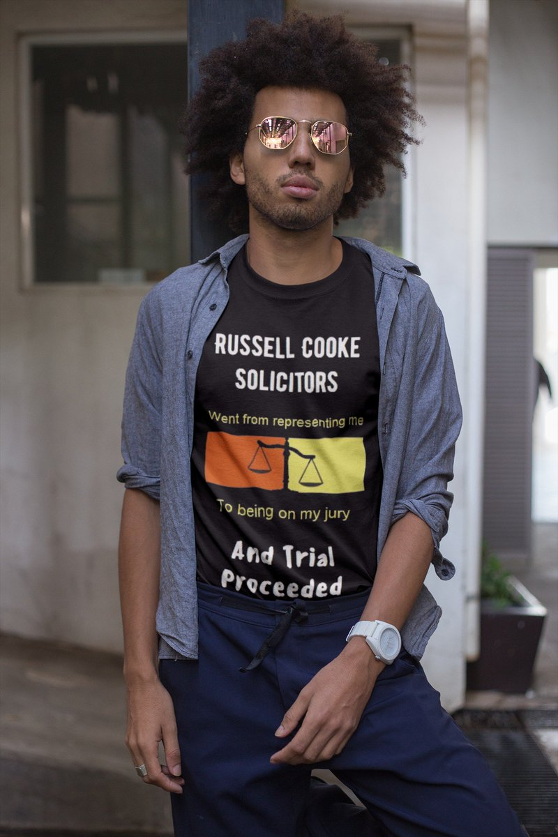 #Retweet to #win an exclusive #RussellCooke Solictors T-Shirt from the 2018 collection. Sizes M to XL. 1 winner will be announced on 22 July if there are at least 1000 RTs. #Panorama #thelawisbroken #justice #humanrights