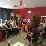 Rencontre sur la cité éducative autour de Vincent LENA coordinateur national des CE au CGET @marcvuillemot