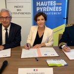 Image for the Tweet beginning: Nouvelle convention pauvreté signée avec