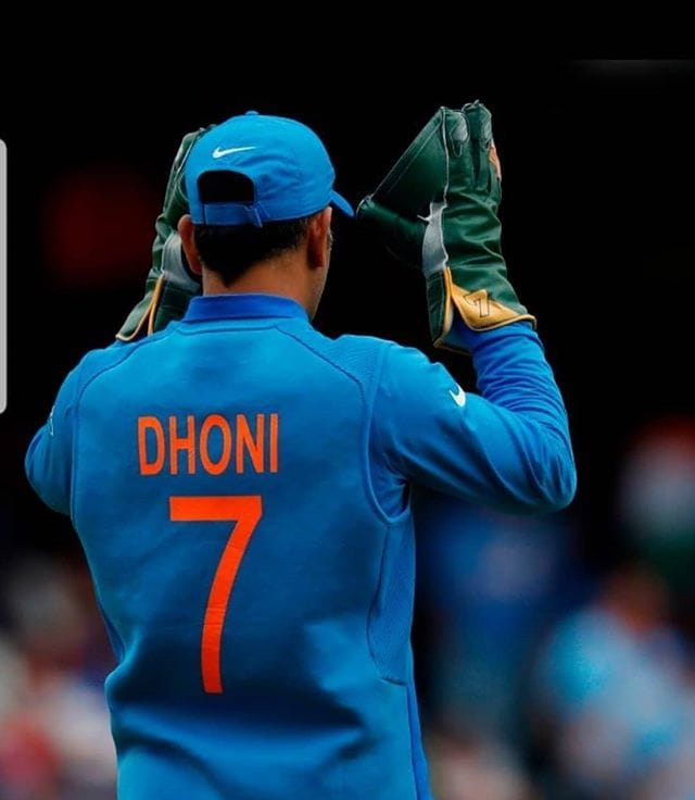 Retweet if you are proud fan of Jersey No. 7!💙😇  #DhoniInBillionHearts @msdhoni
