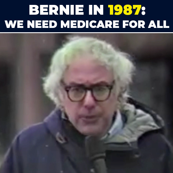 You can call me a lot of things but you cannot call me inconsistent. Our country must join every other major nation of the world and guarantee health care as a human right. I hope we are not going to keep debating this for another 50 years. #MedicareforAll