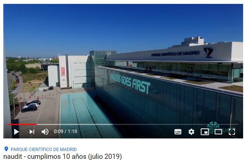 🎉😍 Nos hace mucha ilusión compartir el #vídeo del 10º aniversario de nuestra #SonPCM #Naudit ¡A por muchos años más, equipazo💪! #TIC #HPCN #BigData #Innovación #SomosFPCM #LosParquesAportan @UAM_Madrid 👇👇👇  https://youtu.be/KJ-yqYb4APM
