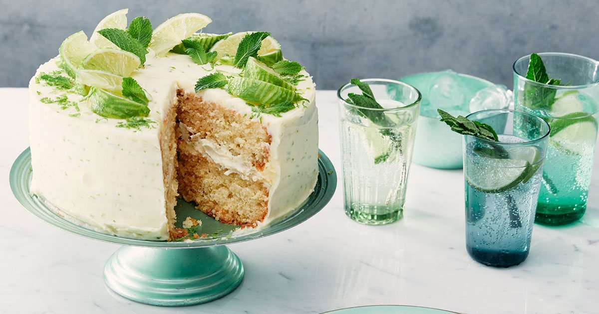 It's #NationalMojitoDay! We're baking ours into cake, obviously https://www.bbcgoodfood.com/recipes/mojito-cake…