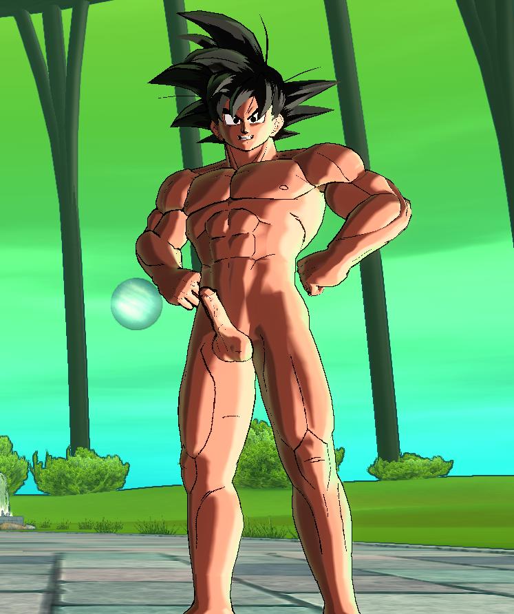 Sexy naked goku