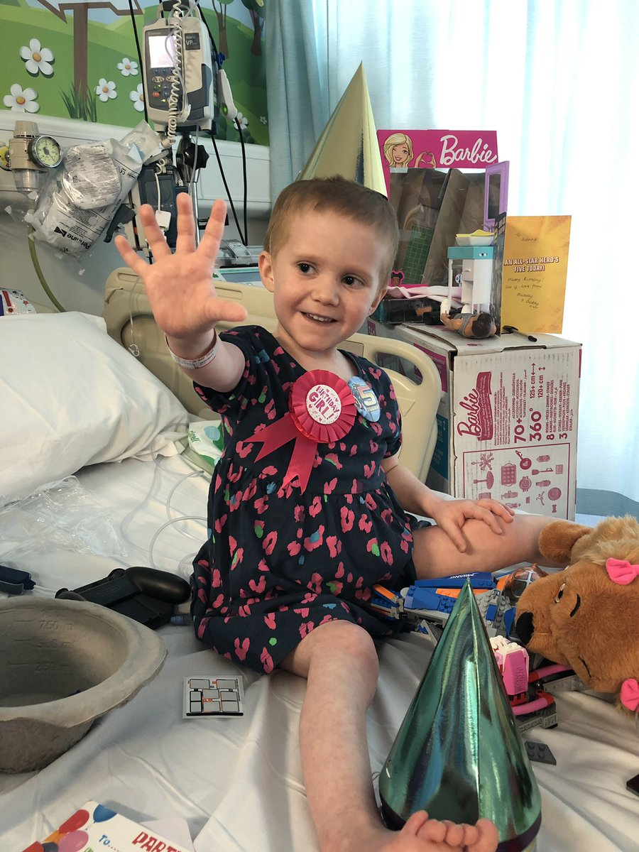 Its Audrinas birthday today! She is 5 years old! She is in hospital but is still in good spirits! Would anyone like to send her a birthday message? @kellsroos @Mwaghorn_9 @HamillHimself @DuaneHolmes @StormHuntley @JeremyVineOn5 @lovegwendoline @ScottyMalone28