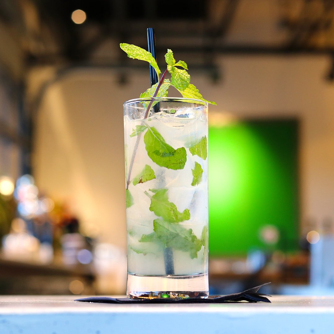 ¡Feliz #NationalMojitoDay! We can subscribe to this one! Join us for $6 mojitos in our breezy Mojito Garden from 5-7:30! #DTSS #SilverSpring #DCDrinks
