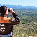 Image for the Tweet beginning: Los brigadistas de la @dipvalencia