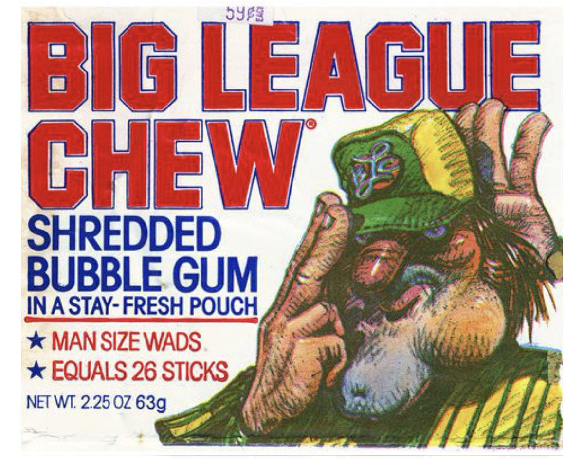 """Every tribute to Jim Bouton, the pitcher who died yesterday at 80, of course included praise for his groundbreaking book """"Ball Four."""" But Bouton also was responsible for co-founding & commercializing Big League Chew. Not all fun. Substituting tobacco for shredded gum saved lives."""